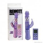 Nyúl vibri, multifunkciós pénisz vibrátor, wireless távirányítóval